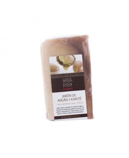Jabón de Argán y Karité, nutre la piel seca