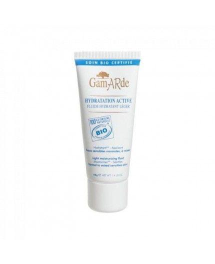 Fluido hidratante BIO piel sensible mixta o normal Gamarde