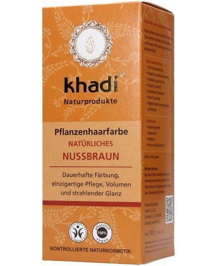 Tinte vegetal Henna Avellana - 100% BIO -khadi
