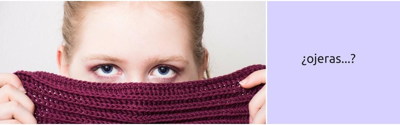 Cuidado del contorno de ojos , para prevenir las ojeras..descanso.