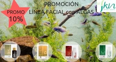 Línea facial regeneradora antiedad con extractos de algas